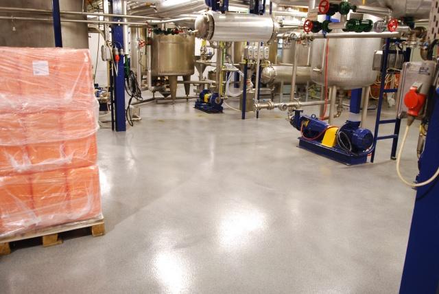 Ipari műgyanta padlóburkolat 1