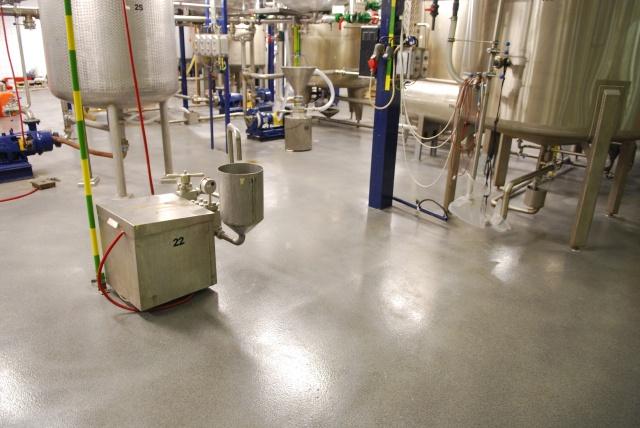 Ipari műgyanta padlóburkolat 2