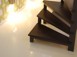 Reprezentatív műgyanta padló burkolat
